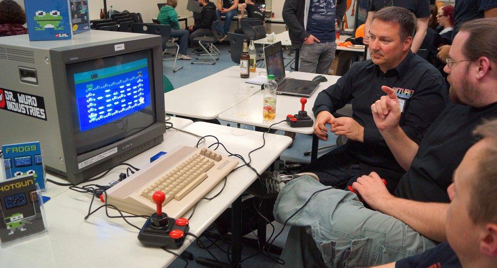 Lange Nacht der Computerspiele Frank Erstling und Christian Gleinser