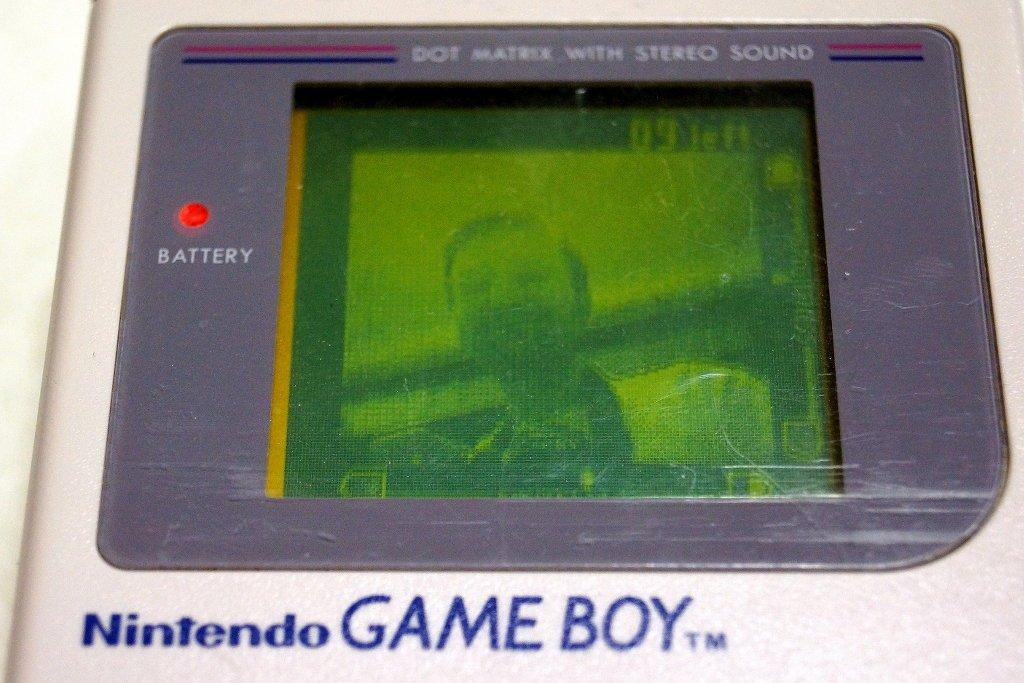Lange Nacht der Computerspiele Retro Selfie mit Gameboy Cam