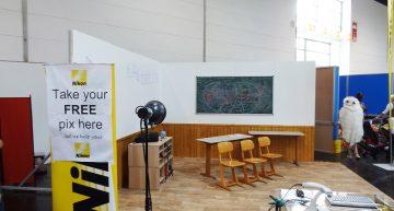 Kulisse Klassenraum