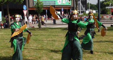 Kyoshi-Kriegerinnen in Action