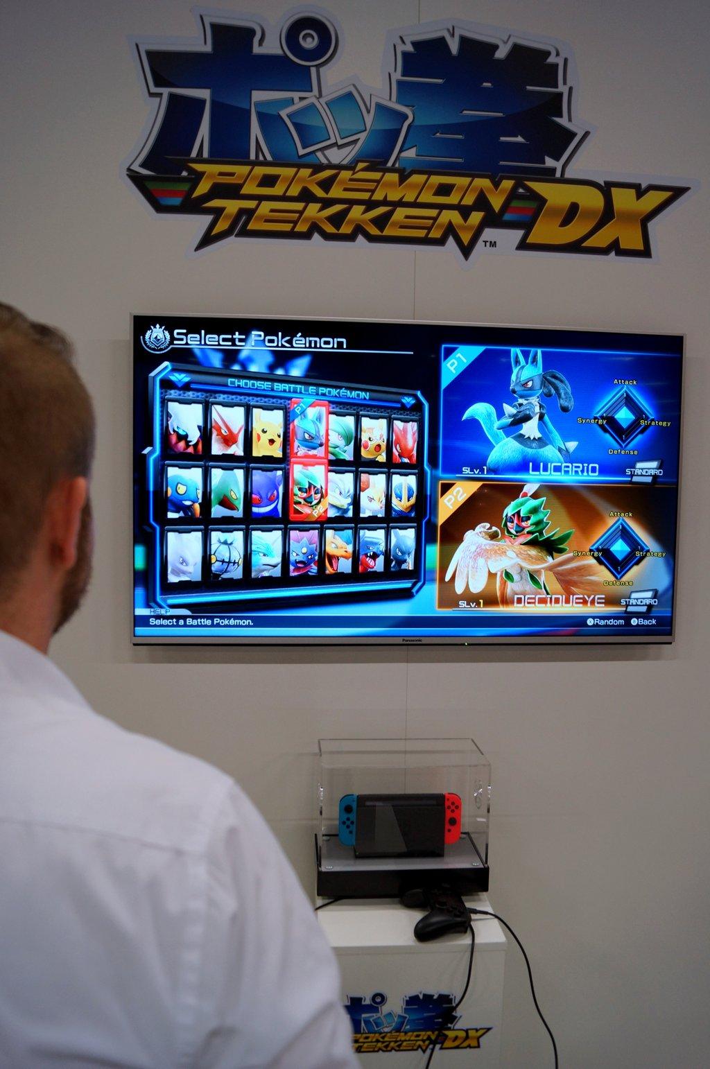 Neue Nintendo Spiele auf der gamescom 01 Pokemon Tekken DX