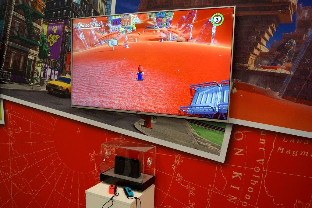 Neue Nintendo Spiele auf der gamescom 09 Mario Odyssey