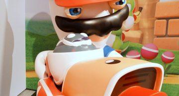 Ca. 2m große Mario + Rabbids Figur
