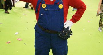 Super Mario besuchte die Zelda Stage…