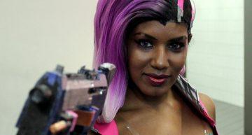 Myriam McFly als Sombra aus Overwatch