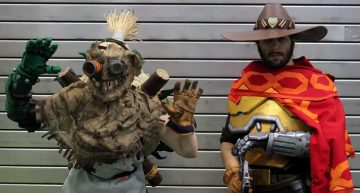 Junkrat (Paper Princess Cosplay) & Mccree aus Overwatch