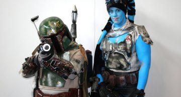 Boba Fett & ein Twi'lek (Star Wars)