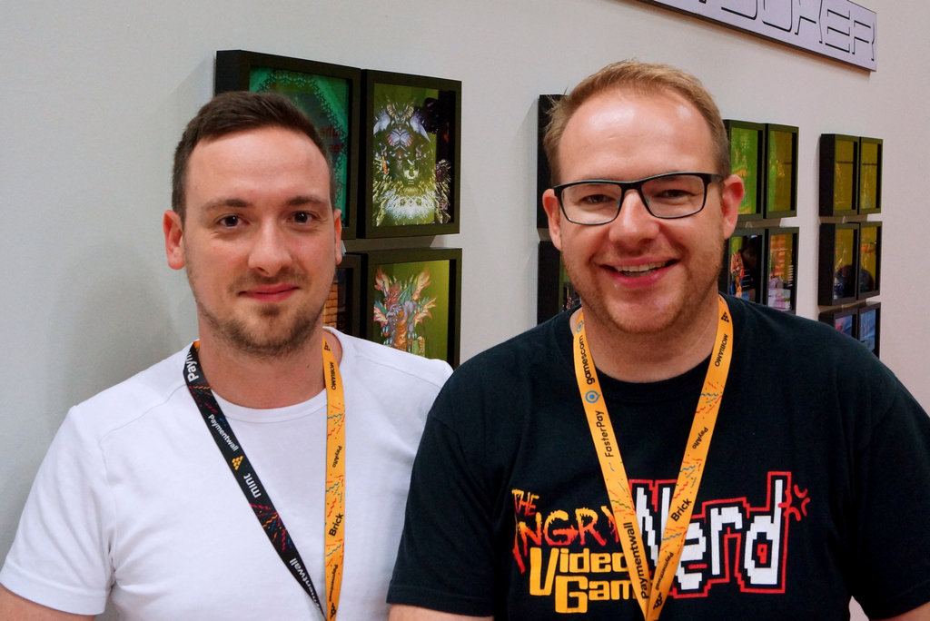 Die Shadowboxer Daniel und Stefan aus Stuttgart