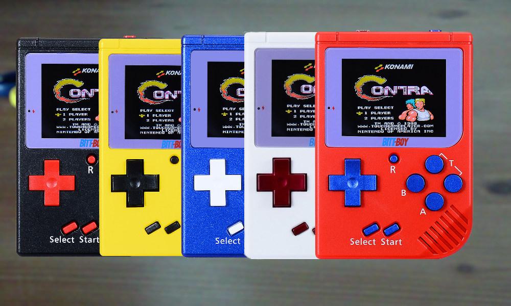 Farbauswahl Bittboy Mini Gameboy