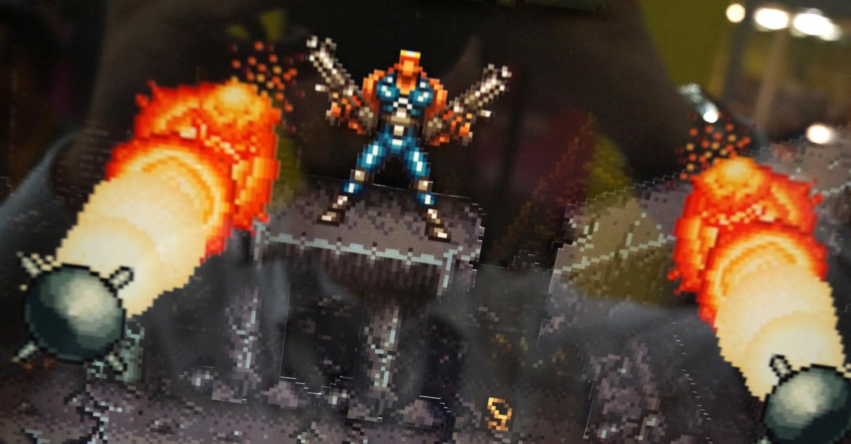 Shadowboxer Retro Art 3D Bilderrahmen Artikelbild