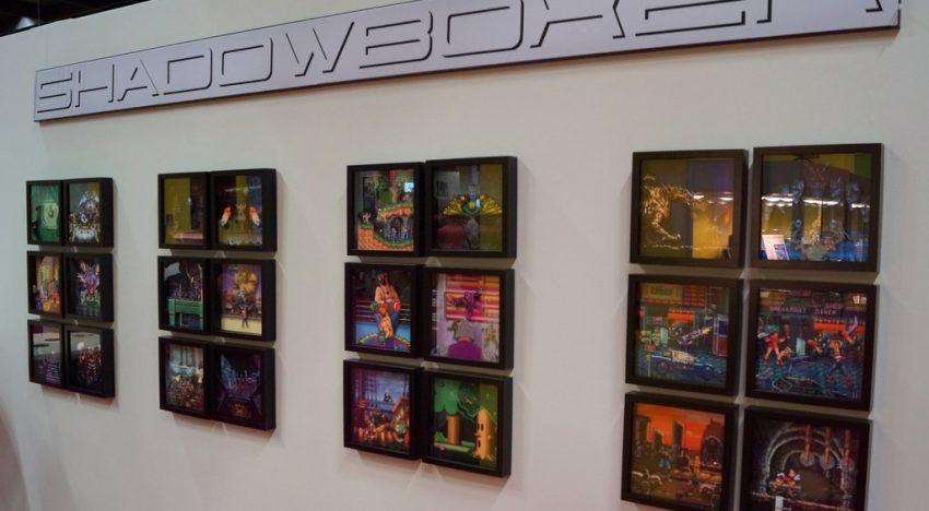 Shadowboxer auf der gamescom mit 24 3D Rahmen