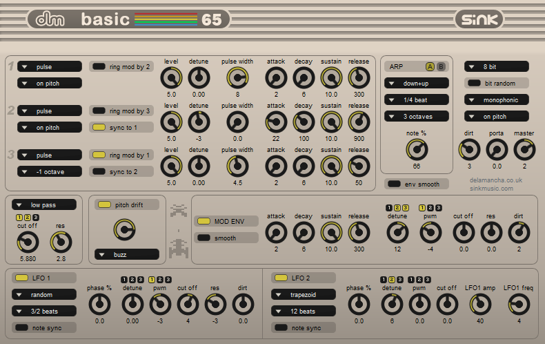 C64 Chiptunes VST Plugins Soundtools Basic65