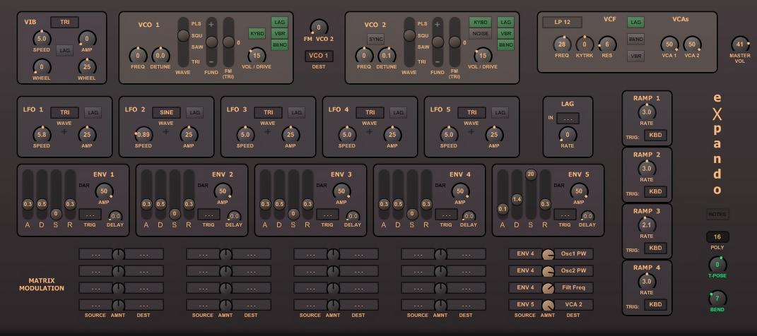 C64 Chiptunes VST Plugins Soundtools eXpando-OSC mod2