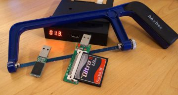 Wie funktioniert die Floppy-Emulation mit den GOTEK Laufwerken?