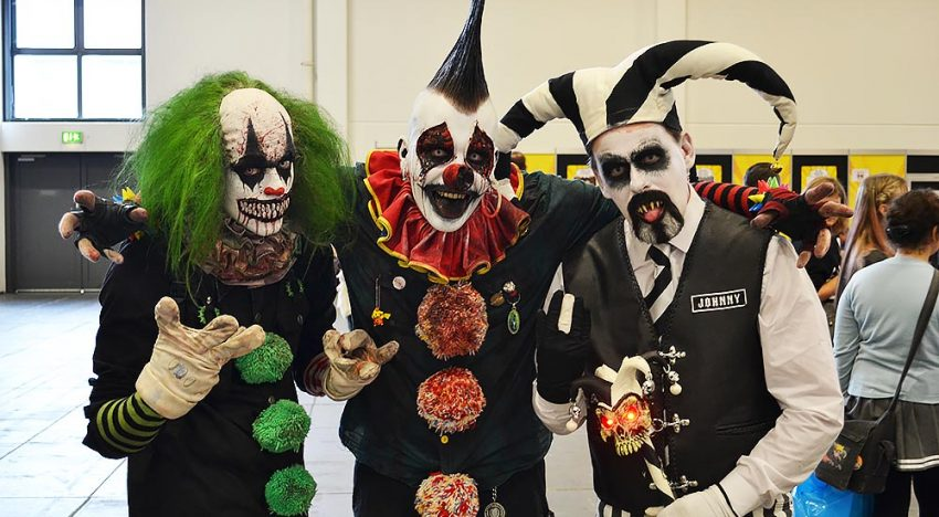 Gruselige Clowns mit genialem Make-up!