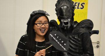 Ich mit dem wohl tollsten Alien!