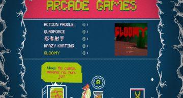 Auswahl an Arcade Automaten