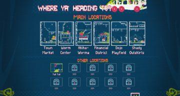 Übersicht der Slumptown Locations