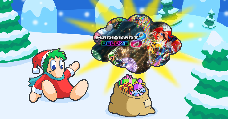 PN Adventskalender Hintergrundbild 09 Mario Kart 8 Deluxe Nintendo Switch