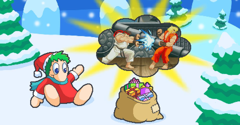 PN Adventskalender Hintergrundbild 16 Ultra Street Fighter II Nintendo Switch