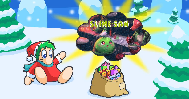 PN Adventskalender Hintergrundbild 21 Slime-san