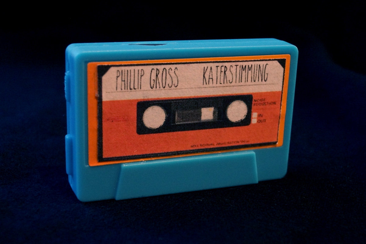MP3 Player HiFi Cassette Album Phillip Gross Katerstimmung