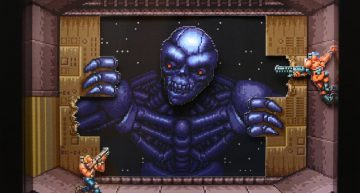 Contra 3: Alien Wars Shadowbox.