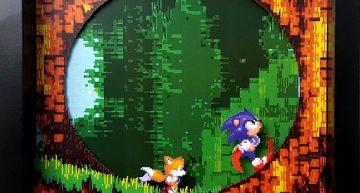 Sonic und seine Loopings.