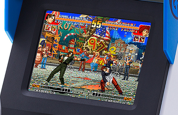 NeoGeo Mini Internation Screenshot Display SNK King of Fighters