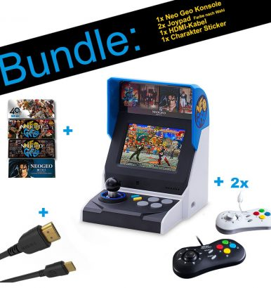 SNK NEOGEO Mini Bundle