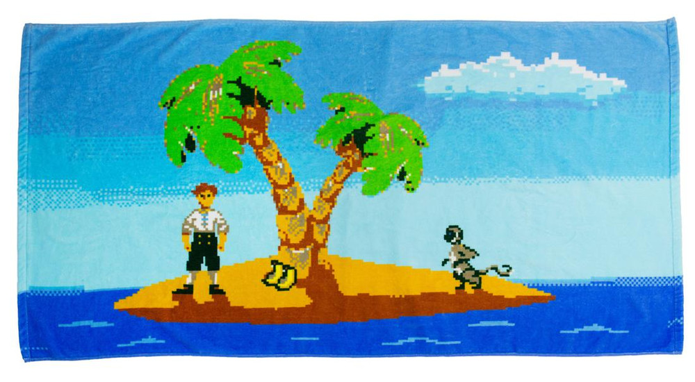 Monkey Island Badehandtuch